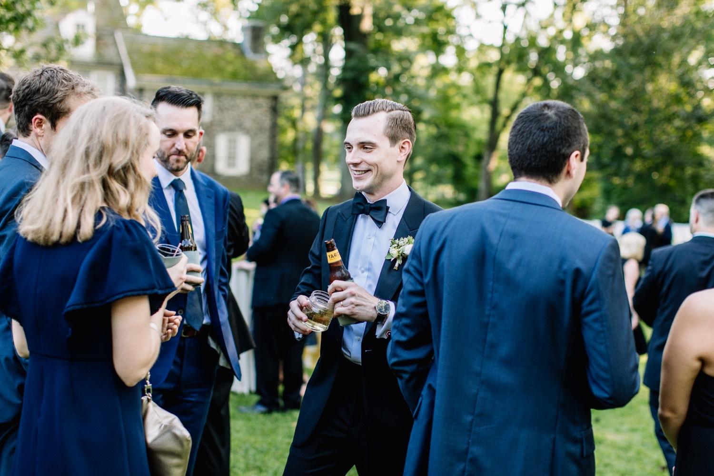 Outdoor Summer Garden Wedding Philadelphia Pennsylvania