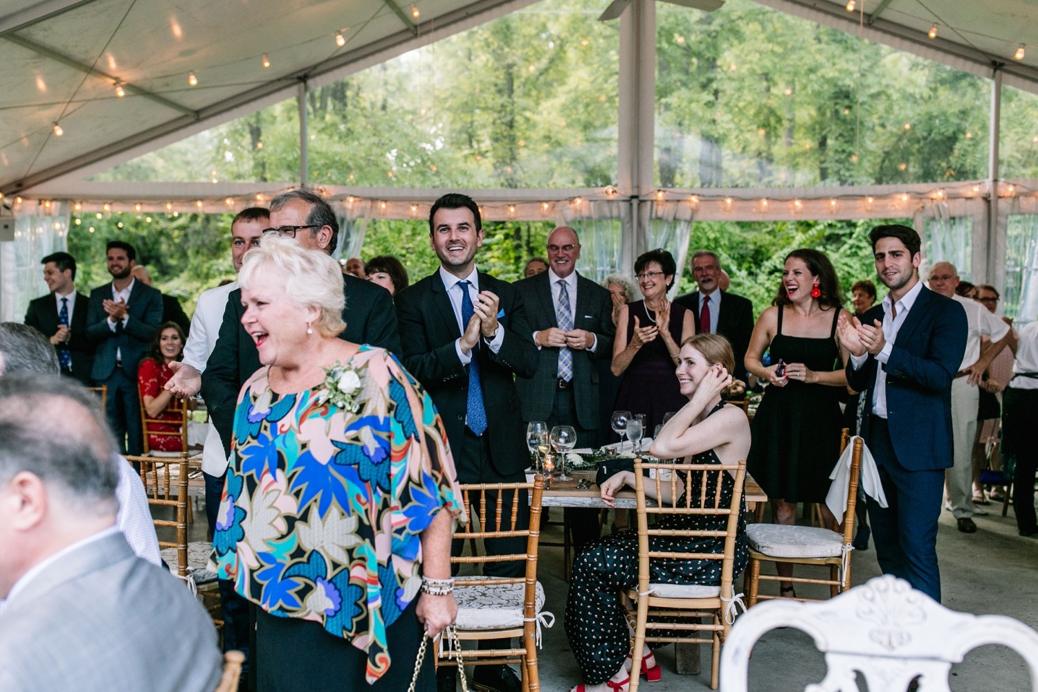 Clear Top Tent Wedding Inspiration