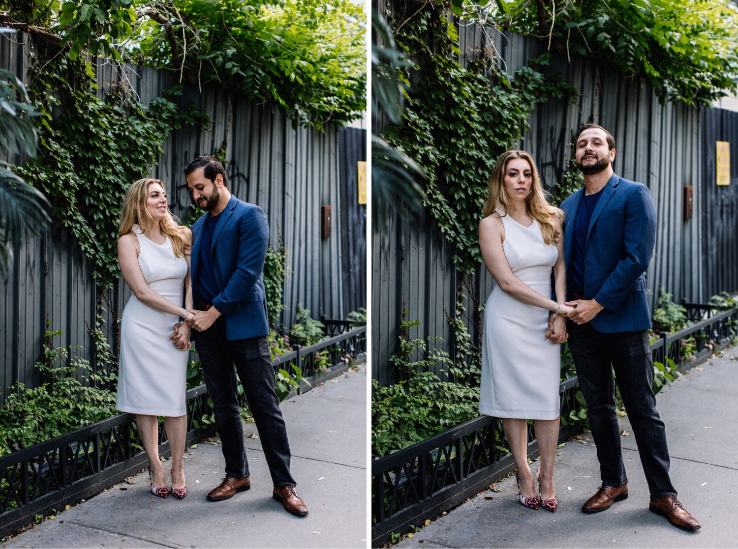 Modern Brooklyn Engagement Photo Session