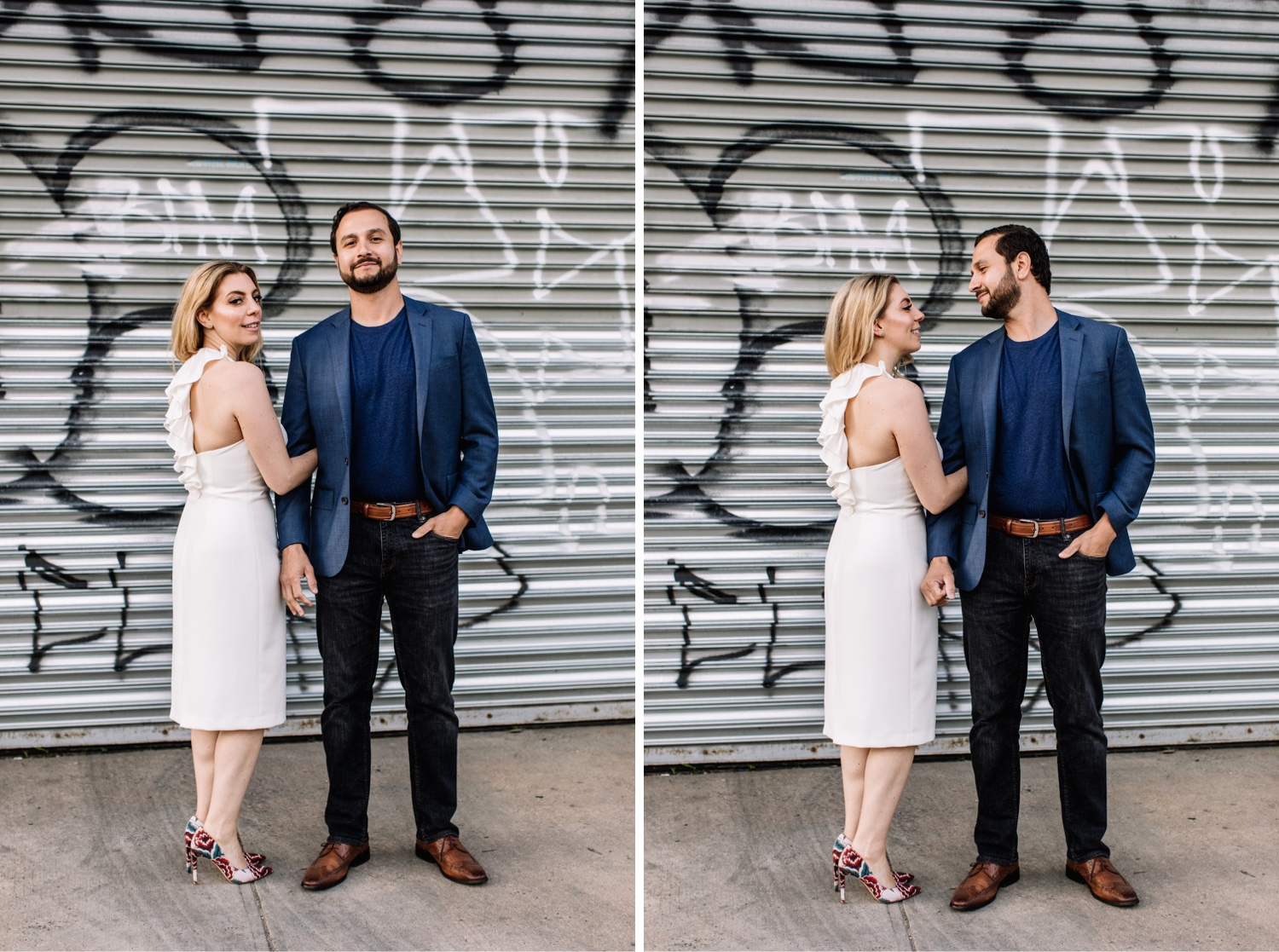 Stylish New York City Engagement Photographer