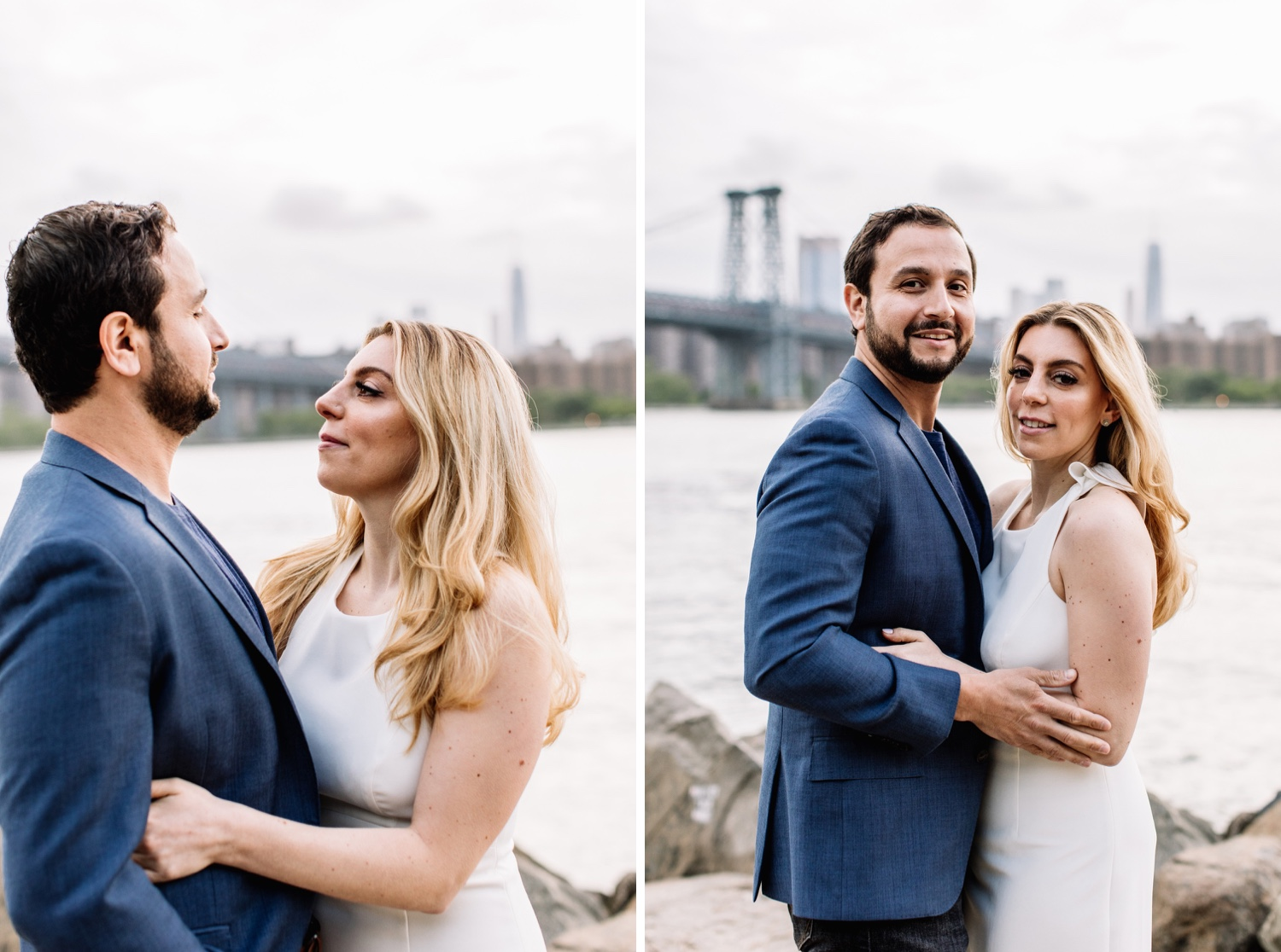 Grand Ferry Park Williamsburg Engagement Photos - Brooklyn NYC