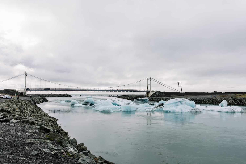 Jökulsárlón glacier lake Iceland