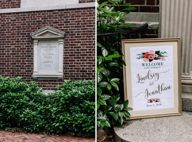 Colonial Dames Society Wedding Venue
