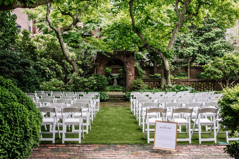 Colonial Dames Outdoor Wedding Venue Philadelphia