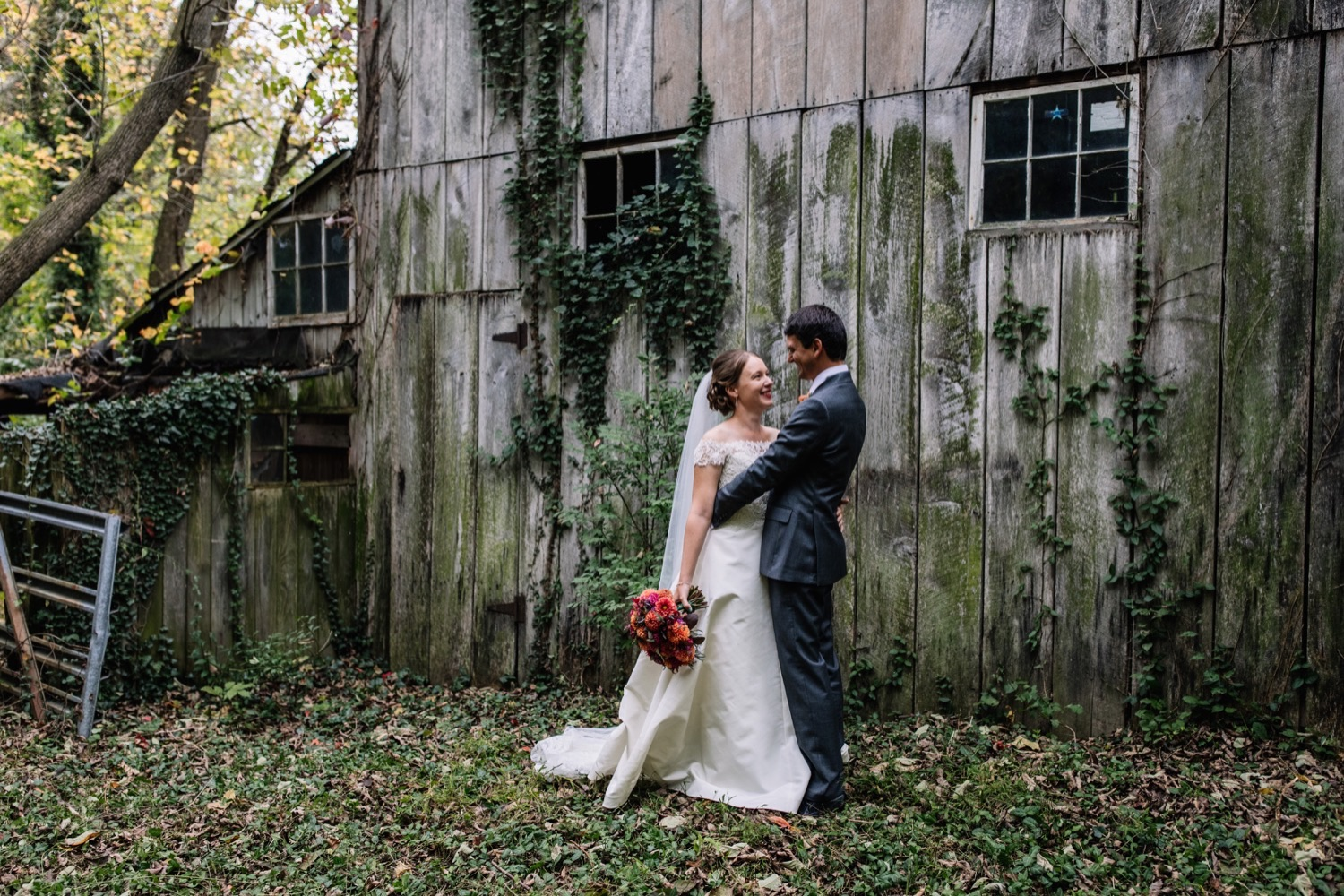 Backyard Farm Wedding - Autumn in Pennsylvania