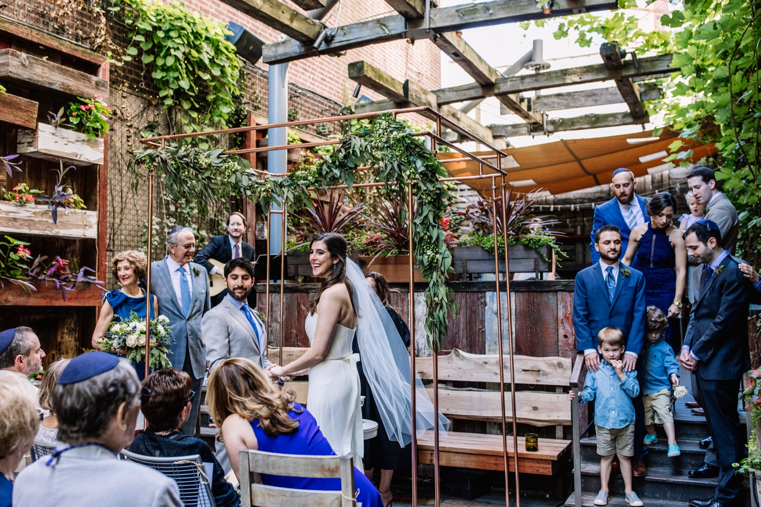 Talula's Garden Wedding in Philadelphia - Best Intimate Restaurant Venues
