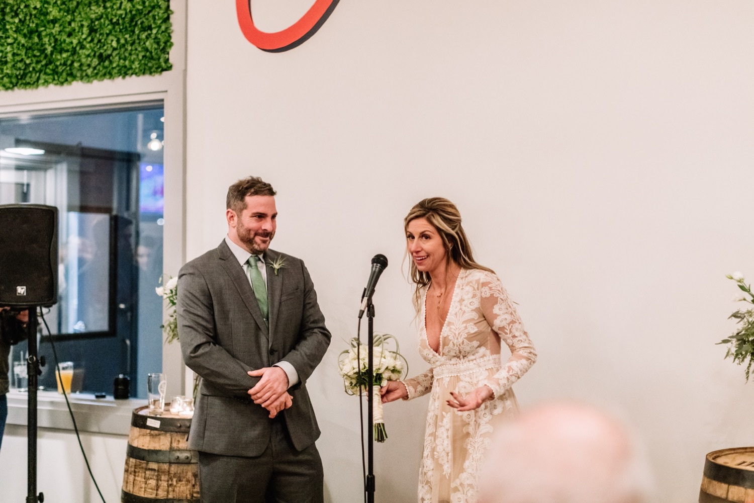 Emotional Surprise Wedding at Workhorse Brewing Company