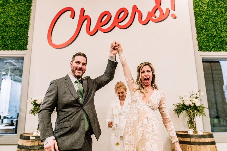 Abby & Bryan's Surprise Wedding at a Philadelphia Brewery
