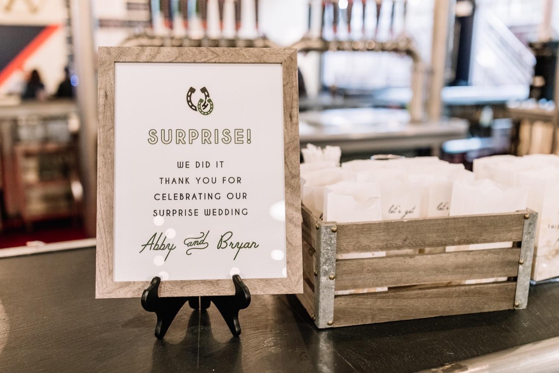 How to Throw a Surprise Wedding Philadelphia