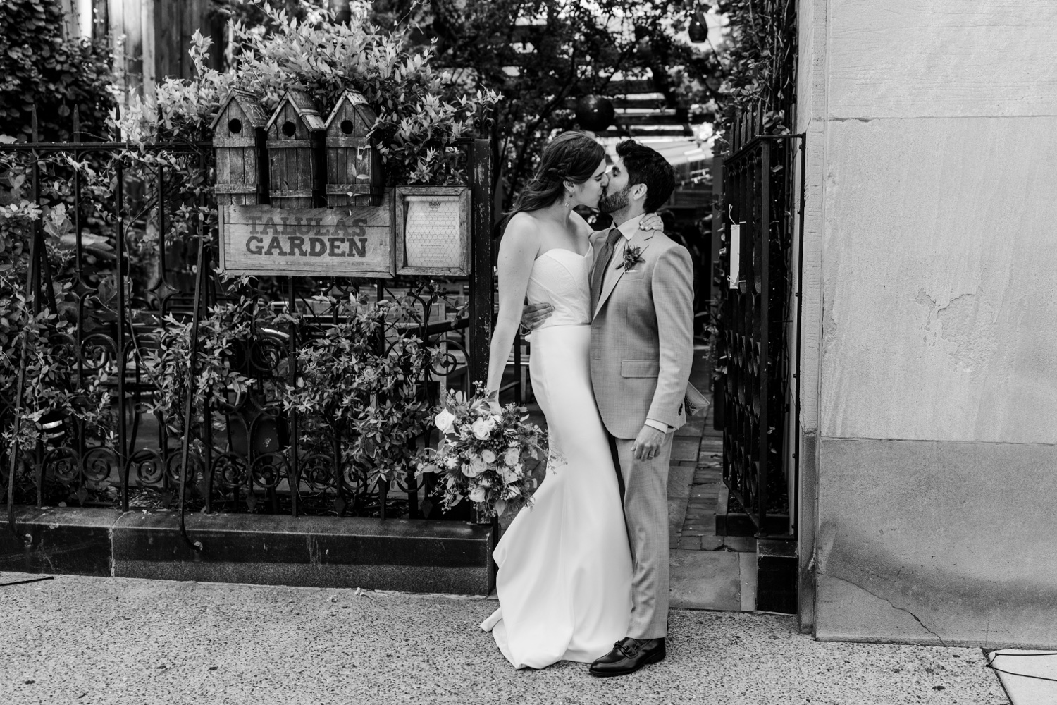 Talula's Garden Brunch Wedding in Washington Square West Philadelphia