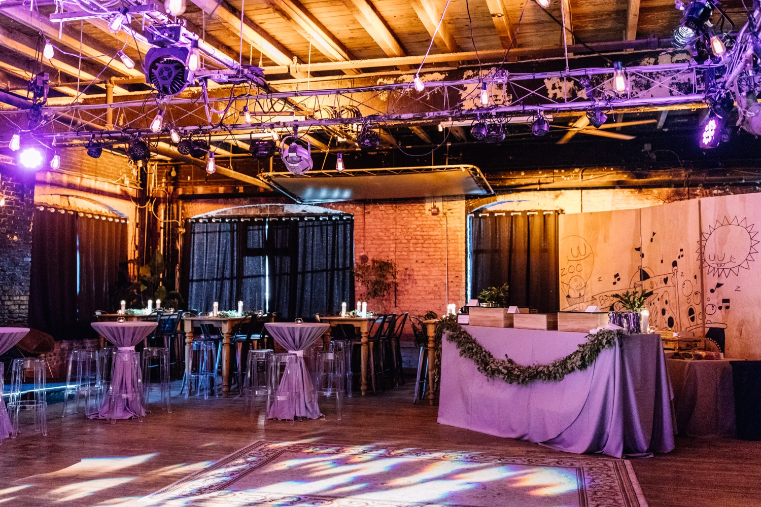 Warehouse on Watts Philadelphia - Industrial Wedding Venue