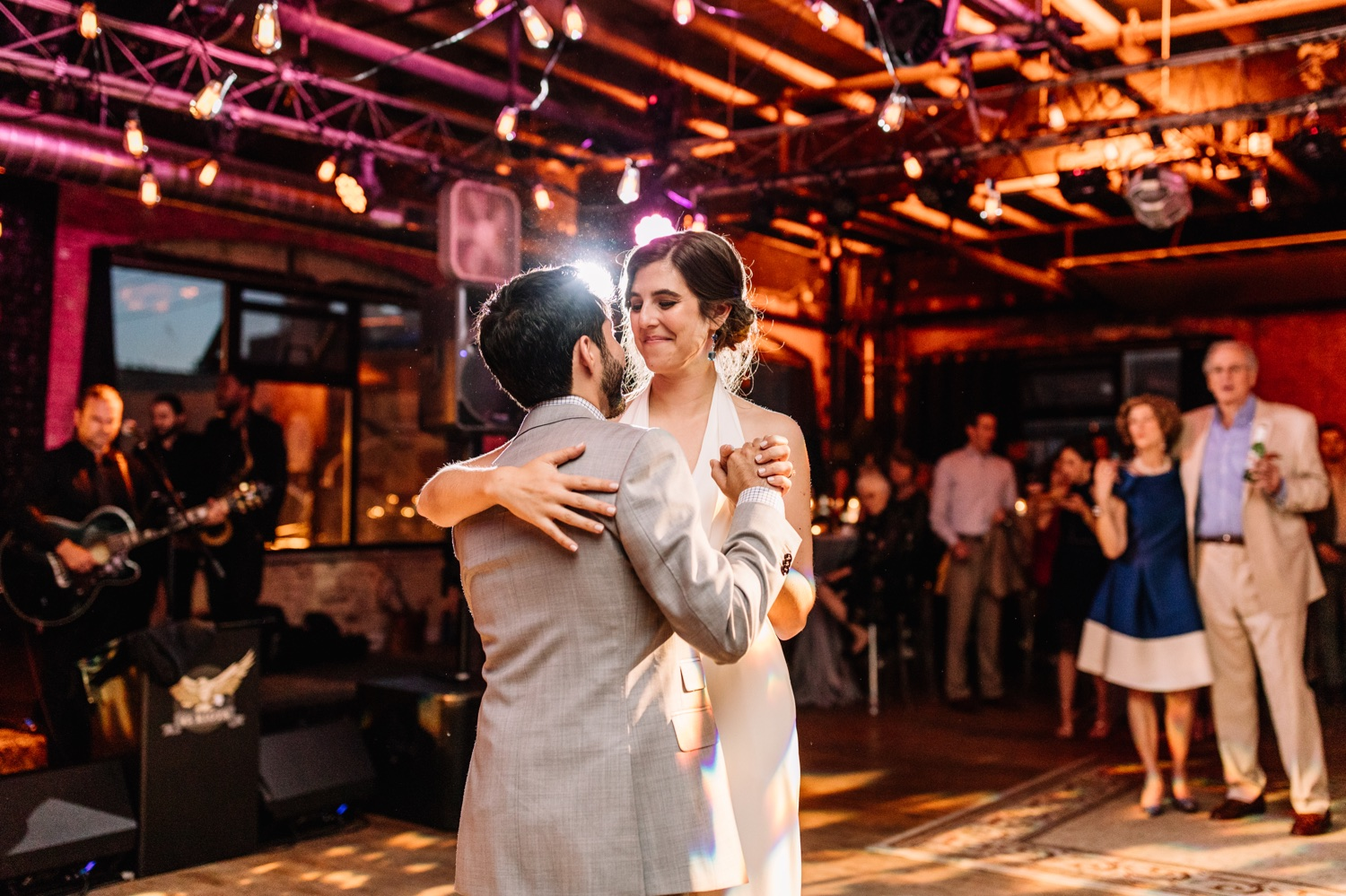Warehouse on Watts Philadelphia Wedding Reception - Non-Traditional Venues PA