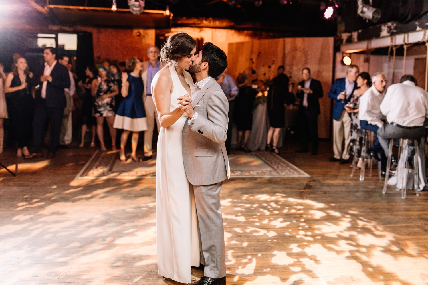 Warehouse on Watts Philadelphia Wedding - Best Industrial Non-Traditional Venues