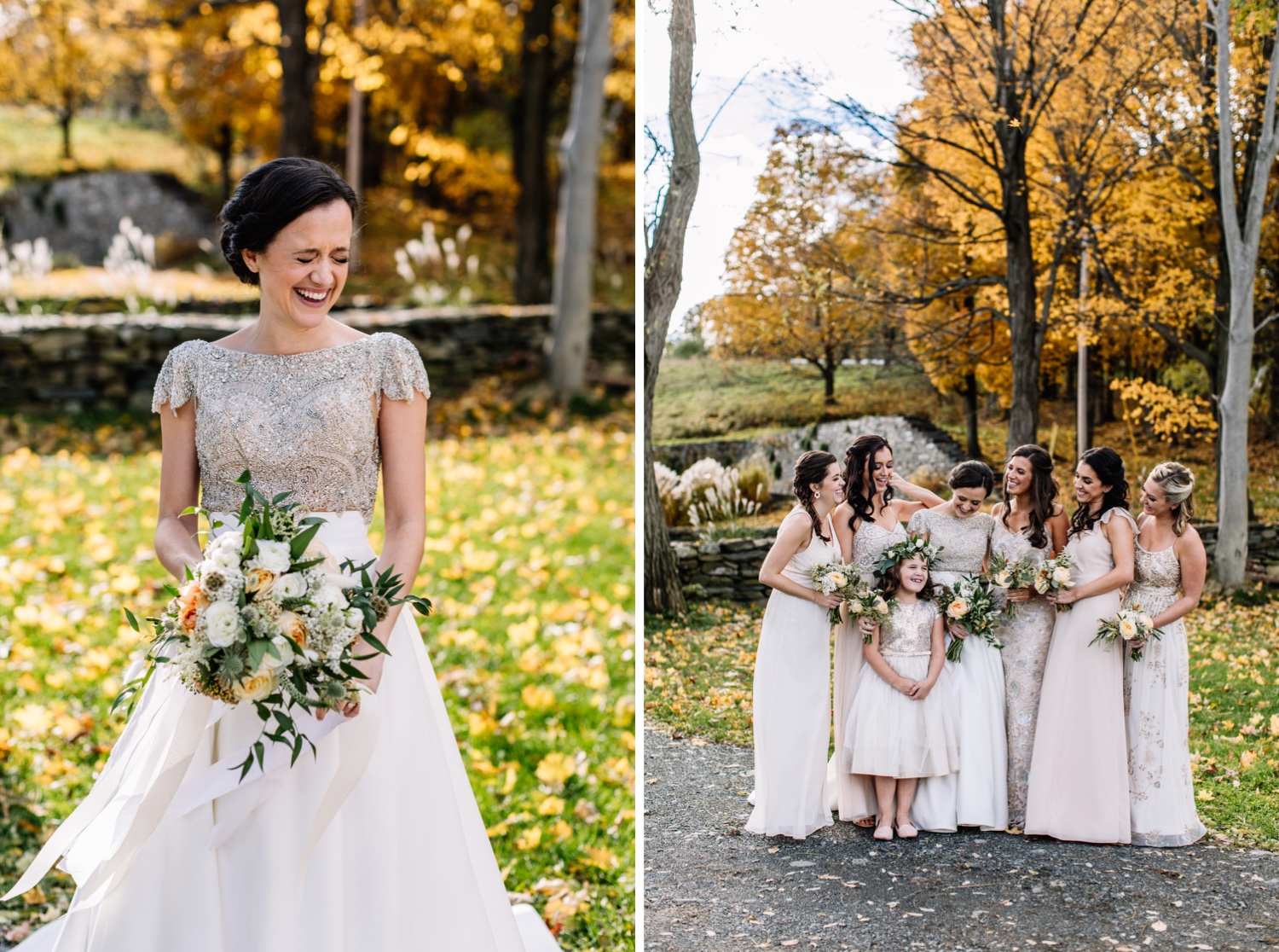 Autumn Hudson Valley NY Wedding Photos