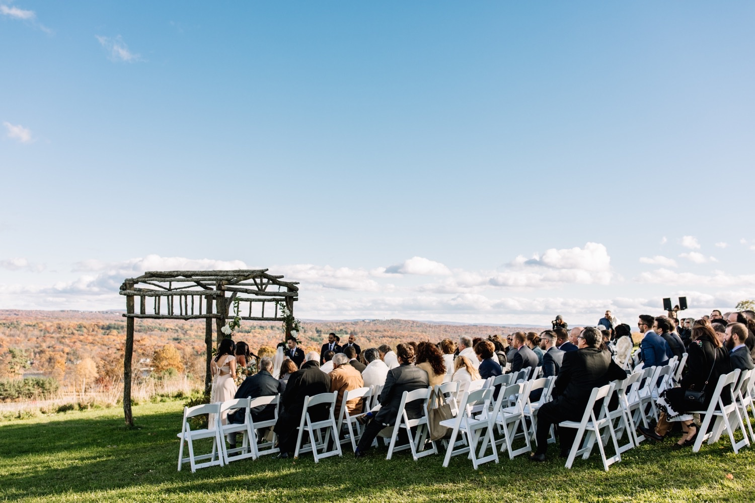 Outdoor Wedding Venue Catskills Farm