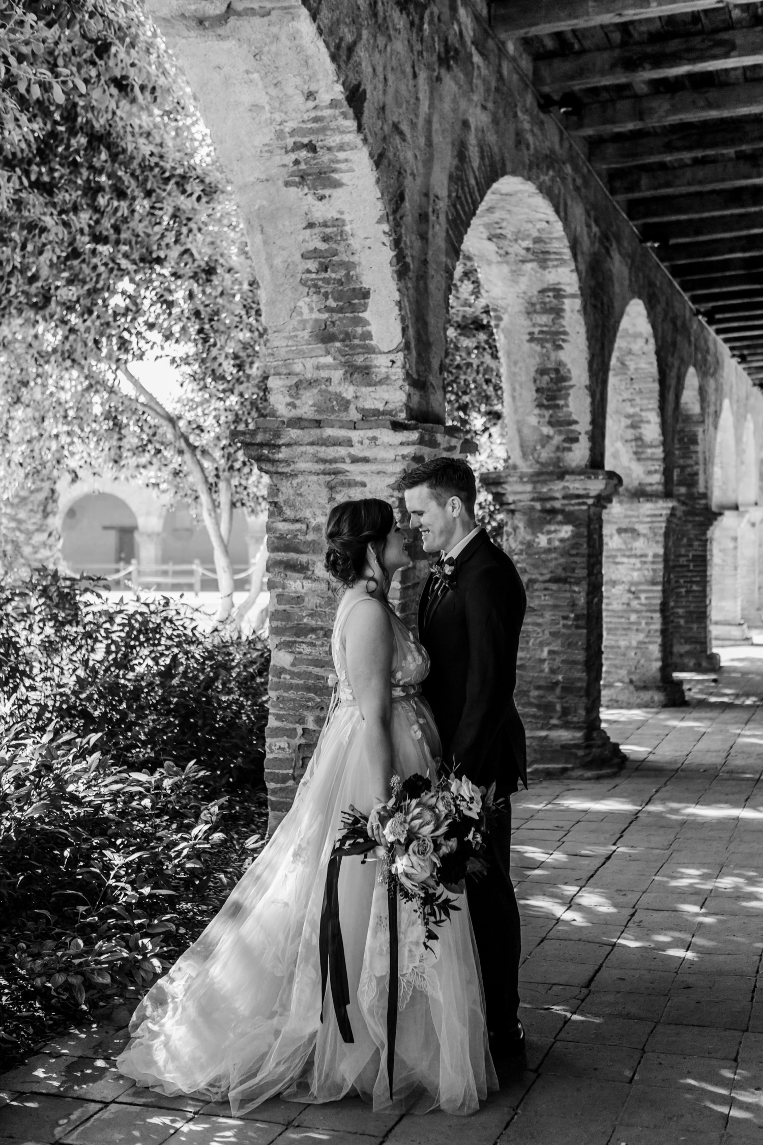 Mission San Juan Capistrano Wedding Photos