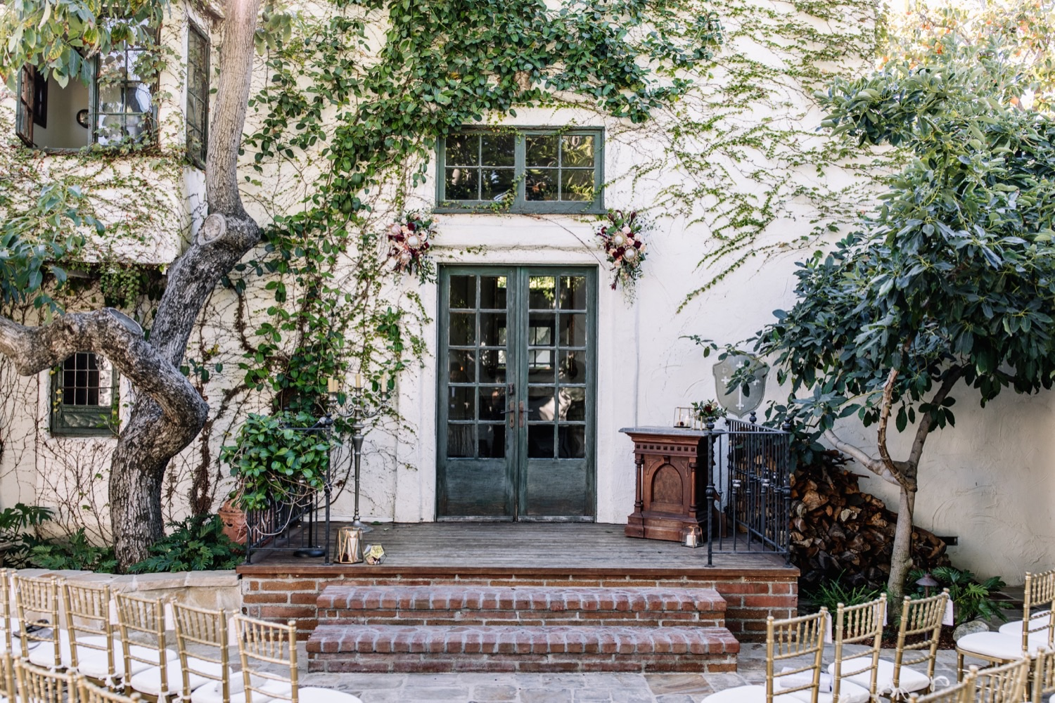 Outdoor Boho Wedding California Inspiration - Villa San Juan Capistrano