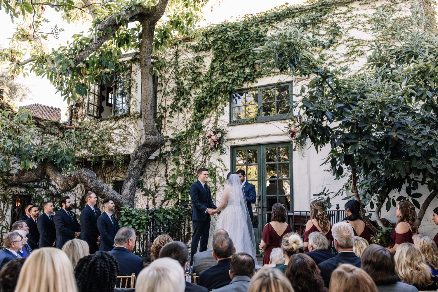 Outdoor Garden Wedding Los Angeles