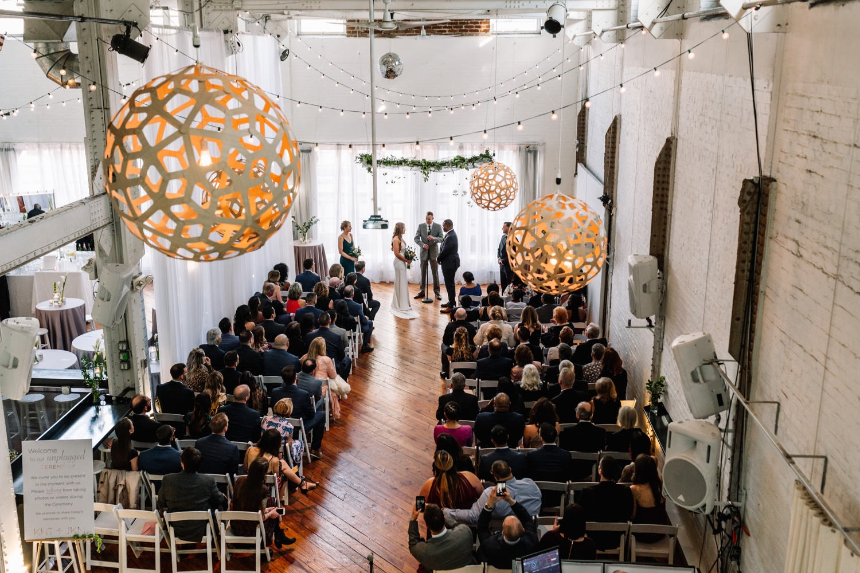 Industrial Loft Wedding - Power Plant Productions