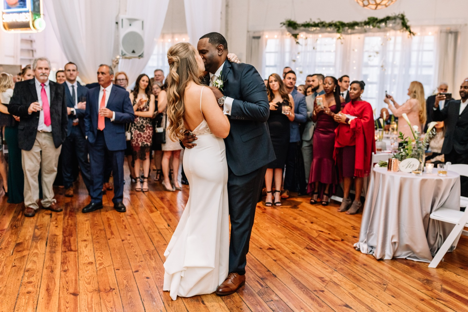 Romantic Power Plant Productions Philadelphia Wedding