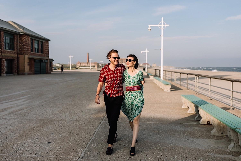 Rockaway Beach Queens Engagement Photographer