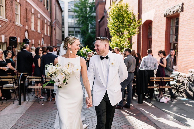 Lancaster Central Market Wedding - Carolyn & Steve's outdoor ceremony in PA